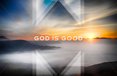 God Is Good (tcjakob) Tags: god is good abstract triangles sunset