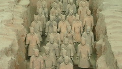 Clay Nation Army (Eye of Brice Retailleau) Tags: icon effigy figure statue beauty composition scenery scenic streetphotography sculpture closeup ambiance asia china chine intrieur xian terracotta army grave tomb