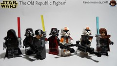 The Old Republic Figbarf (Random_Panda) Tags: lego figs fig figures figure minifigs minifig minifigures minifigure purist purists character characters star wars films film movie movies tv show shows television