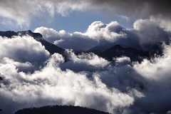 Cloudy mountains (MRFotografie) Tags: hautesavoi travel europe montblanc france landscape dramatic weather clouds cloudy mountains