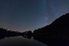 Lac achard (Christophe26130) Tags: mountain chamrousse lake cold milky way