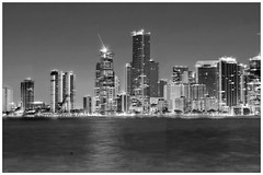 View of downtown Miami, Florida, USA / The Magic City (Jorge Marco Molina) Tags: miami florida usa cityscape city urban downtown density skyline skyscraper building highrise architecture centralbusinessdistrict miamidadecounty southflorida biscaynebay cosmopolitan metropolis metropolitan metro commercialproperty sunshinestate realestate