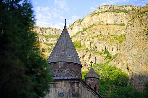 Geghard monastery, IV AD, Armenia