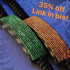 Halloween Sale 35% off now until Nov 2, 2016!! #jenniferrayjewelry #jrj #carbonfiber #aurora #gitd #mensfashion #mensbracelet #edc #everydaycarry #menstyle #mensgear #greenglow #redglow #fire #monster #halloween #sale (JenniferRay.com) Tags: instagram carbon fiber jewelry exclusive jrj jennifer ray paracord custom