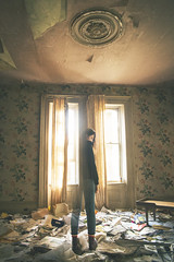 impermanence (selibails) Tags: abandoned abandonedhouse selfportrait