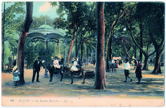 Alger - Le Square Bresson (pepandtim) Tags: postcard old early nostalgia nostalgic alger algiers le square bresson ll 18021909 1909 hepway bar lane west grinstead horsham sussex england louise bandstand donkeys united states president theodore roosevelt convened first north american conservation conference delegates canada mexico east room white house natural resources continent