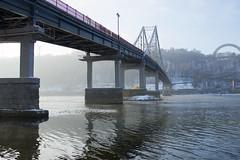 _DSC0248 (Artem_Kotenko) Tags: sony a77 a77v minolta 2485 2485mm kyiv winter autumn sun river bridge park snow cold portrait water walkway