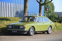1974 Saab 99 87-BG-14 (Stollie1) Tags: 1974 saab 99 87bg14 duiven