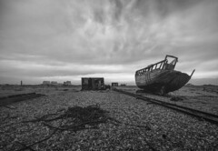 Nowhere to go (stocks photography.) Tags: michaelmarsh nowheretogo dungeness photography photographer beachscape landscape