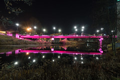 Broad Street Parkway Bridge (Seth J Dewey Photo) Tags: nashua newhampshire sethjdeweyphotography bridge lights night