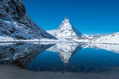 Riffelsee meets Matterhorn (Tobias Lw Photography) Tags: zermatt schweiz switzerland alps alpen matterhorn spiegelung mountains riffelsee gornergrat lake
