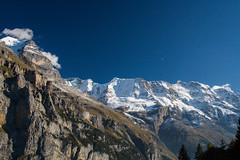 The mountain range (mightymightymatze) Tags: switzerland schweiz suisse mrren bern berne berneroberland lauterbrunnen lauterbrunnental mountains mountain berge berg alpen alps alpes
