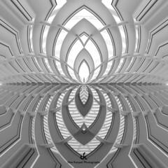 Kaleidoscope of Life XII (Dez Karpati Photography) Tags: dezkarpati milwaukee wi artmuseum mam calatrava santiagocalatrava architecture building famous modern minimalist white photo photograph photography foto blackandwhite bw fineart kaleidoscope abstract