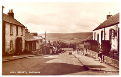Gartmore Village, Perthshire. (Paris-Roubaix) Tags: gartmore perthshire aberfoyle loch lomond trossachs national park antique postcards scotland vintage scottish main street