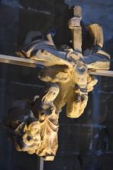 Fragment de Calvari (esta_ahi) Tags: lleida claustre claustro cloister seuvella ri510000156 catedral gtic gtico segri lrida spain espaa  calvari calvario creu cruz cross  tracera crucifixin