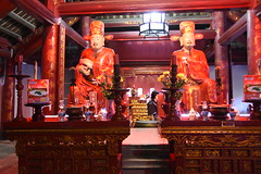 Subsidiary figures in the Confucius temple