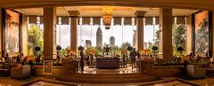 Hotel Life (Rob-Shanghai) Tags: hotel pano shanghai pudong shangrila 5star lobby leicaq