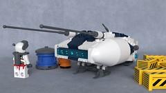 DR-88M Sparrow (Sunder_59) Tags: lego moc mecabricks blender3d render starfighter fighter spaceship spacecraft vehicle military