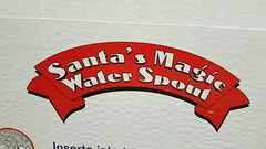 Everything about Santa is magical! (BarryFackler) Tags: christmas holiday celebration box packaging santasmagicwaterspout hardware christmastree seasonal waterspout magic 2016 barryfackler barronfackler banner product merchandise seasonalmerchandise lowes santa santaclaus