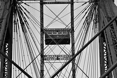 Ferris Wheel (heiko.moser (+ 10.600.000 views )) Tags: ferriswheel riesenrad monochrom mono bw blackwihte blancoynegro wien prater sterreich sw schwarzweiss schwarzweis noiretblanc nb nero technik lines heikomoser