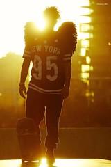 Skate Angel  #sunset #angel #skate #skater #blackangel #angelcaido #fallenangel #barcelona #bcn (houmycoollymx) Tags: fallenangel skater bcn blackangel angel angelcaido skate barcelona sunset