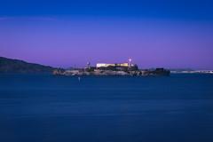 Alcatraz & Blue Hour (Lus Henrique Boucault) Tags: alcatraz bay bluehour california eua island night nightlights prison sanfrancisco sunrise sunset traveling unitedstates usa estadosunidos us