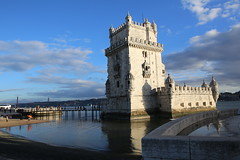 IMG_3537 (AndyMc87) Tags: torre de belm lissabon lisboa lisbon manuelinischen stil weltkulturerbe unesco world heritage clouds sky reflection wet water river tejo canon eos 6d 2470 ponte 25 abril