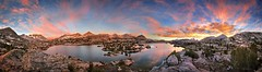 Marie Lake Sunrise - Sierra (Bruce Lemons) Tags: johnmuirtrail california johnmuirwilderness sierra sierranevada mountains hike backpacking hiking wilderness jmt sunrise marielake lake seldonpass