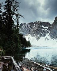 (Colin Gallagher) Tags: lake mountains nature vertical forest landscape photography washington northerncascades colingallagher