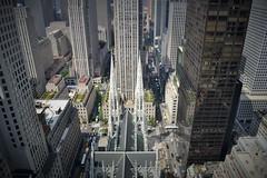St Patrick's Cathedral (KaDeWeGirl) Tags: newyorkcity cathedral manhattan rockefellercenter midtown explore stpatricks birdseyeview