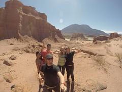 Photo de 14h - Avec Mathilde, Mickael et Shany dans les environs de Cafayate (Argentine) - 22.08.2014