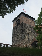 Fnfeckturm, tower at Nuremberg Castle, Germany (Paul McClure DC) Tags: castle architecture germany bayern deutschland bavaria nuremberg franconia historic franken nrnberg may2015