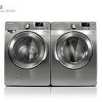 ドラム洗濯機の写真