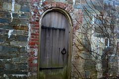 door to adventure (kate.burkholder) Tags: door old vines adventure oaks dumbarton