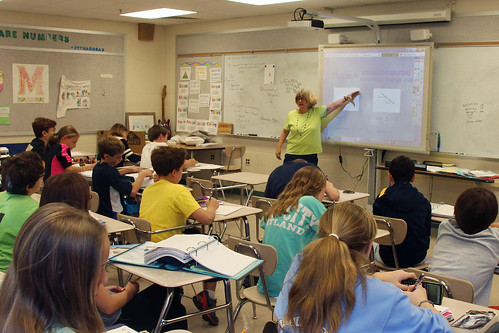 middle school math class by woodleywonderworks, on Flickr