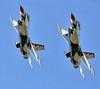 Thunderbirds (suddenjim) Tags: airplane jet f16 aricraft wingsoverhouston usafthunderbirds suddenjim jimstough