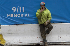 Pause (zane) Tags: nyc men work cigarette smoke 911 siesta worker sigaret sigaretta pausa lavoratore