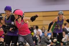 Roller Derby (Pittypomm) Tags: london sport rollergirls roller derby swat taunton
