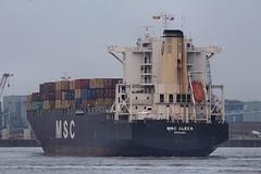MSC Alexa (das boot 160) Tags: sea port docks river boats boat dock ship ships container maritime mersey docking rfa mscalexa merseyshipping boxboat