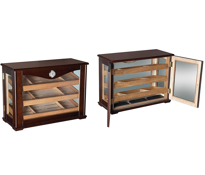 Counter Top Display Humidor With Reverisble Trays (vinbro.com) Tags: Coffee  Table