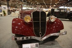 SALMSON (Alain ) Tags: auto show lighting light france reflection cars car automobile lyon rollsroyce exposition lumiere salon rolls tole bugatti reflets eclairage wagen 2015 salmson carrosserie epoquauto