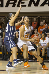 Oklahoma State Cowgirls vs Oral Roberts Golden Eagles Women's Basketball Game, Friday, November 27, 2015, Gallagher-Iba Arena, Stillwater, OK. Bruce Waterfield/OSU Athletics (OSUAthletics) Tags: osu oralrobertsuniversity oru cowgirls eagles goldeneagles womensbasketball oklahomastate big12 20152016