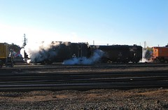Steam! (ScholzRUNNER) Tags: california usa trains sp southernpacific roseville espee rotarysnowplow southernpacificrailroad sacramentolocomotiveworks sprotary