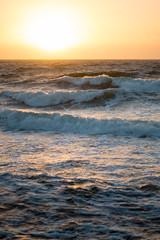 Warmth (Raphs) Tags: ocean sunset sea orange sun water evening waves sweden balticsea canonef50mmf18 shore sverige breakwater östersjön raphs mölle warmcolours canoneos70d
