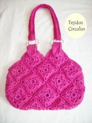 SANY1840 (tejidoscirculos) Tags: bag crochet cartera bolso ganchillo uncinetto fatbag hakeln