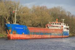 Fehn Capella (North Ports) Tags: 2 port manchester canal ship ships fehn locks passing peel trafford salford ports msc eccles capella irlam cadishead mmsi jevenau 305059000 305094000