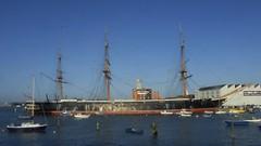 HMS Warrior (Wider World) Tags: england shop boats harbour hampshire portsmouth rigging dockyard royalnavy hmswarrior