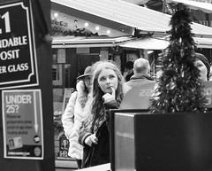 hmm.... (LozHudson) Tags: christmasmarkets manchester monochrome blackandwhite blackwhite canoneos100d street streetphotography urban