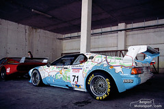 BMW E26 M1 Procar (belgian.motorsport) Tags: france classic m1 map bmw spa procar 2011 e26