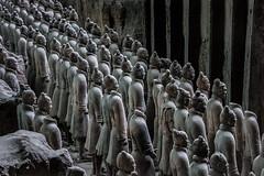 Terracotta Army (Felix Vila) Tags: emperor funeraryart terracotta terracottaarmy warrior xian china soldier qinshehuang